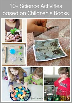 Over 10 Science Activities for Kids Inspired by Children's Books