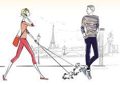 illustrations de la parisienne à Paris - ©dorothea Renault Book Portfolio, Illustration Artists, Tour Eiffel, News Design, Illustrations Posters, Mens Fashion, Books, Fashion Design, Diy Stuff