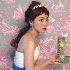 「 オーダーメイドフォトウエディング 」の画像|My Style|Ameba (アメーバ) Headdress, Headpiece, Hair Arrange, Wedding Hire, Wedding Images, Hair Comb, Hair Hacks, Bridal Style, Bridal Hair