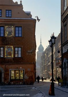 Old Town in Warsaw.