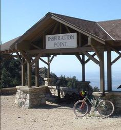 Inspiration Point, Altadena, California.  Do you have your own inspiration point you ride to?  tell us about it...