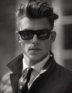 Reminiscent of those 1940's dapper 'do's this style has been rising in popularity for quite some time now.  If you haven't caught this train, here's a post to help yo…