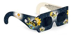 4-Pack Premium ISO and CE Certified Lunt Solar Kid Size Eclipse Viewing Glasses  Smaller sized for little ones. These kids eclipse glasses are perfect for budding scientists, astronomers and any child who wants to be a part of the excitement of this rare event.We have not been recalled. We have met all of Amazon's safety requirements. We are a TSE 17 manufacturer and approved by NASA and the American Astronomical SocietyCertified Safety. SUNGlasses meet the new ISO 12312-2 (2015) i..