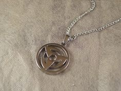 necklace naruto Darts black silver charm witch pendant chain necklace on Etsy, $0.20