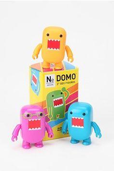 Domo Neon 2'' Qee Blindbox Figure