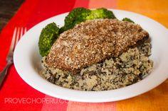 Quinoa Pilaf with Mushrooms #quinoa #superfood #PERU | Provecho Peru