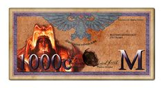 Imperial 1000 Credit Bill by ikkaan
