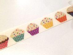 Japanese Washi Tape Rainbow Muffin Cupcake Baking by afterninety
