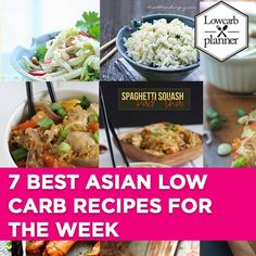 This is my great 7-day-Asian Low Carb Recipes suggestion for all Asian Food fans. This List of recipe is healthy, gluten free, low carb and of course sugar free.