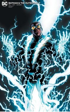The Outsiders splinter in the aftermath of a tragedy, as Black Lightning confronts Batman about how to handle Ra's al Ghul. Comic Books Art, Comic Art, Book Art, Dc Comics Characters, Dc Comics Art, Black Characters, Black Lightning Static Shock, Comic Character, Character Design