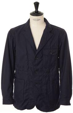 Engineered Garments Benson Jacket - Dark Navy Uniform Serge