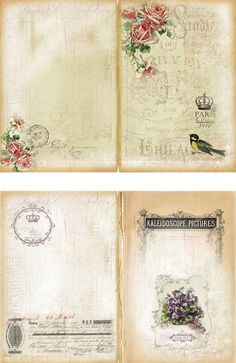 A Blog Showing Almost Daily Paper Craft And Mixed Media Projects With Vintage Style Book