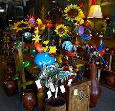 Dress up the Garden with these cool Yard Items.  Pueblo Southwest Trading Co. It's State Fair time great deals