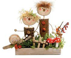 Půvabnou dekoraci z přírodnin a dalších materiálů zvládnete s dětmi vyrobit během deštivého sobotního odpoledne. Tuhle inspiraci jsme pro vás našli v knize Tvořit se dá ze všeho!; Bookmedia
