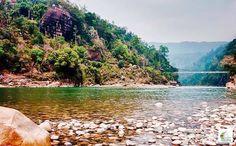 Natural beauty of Jaflong, Sylhet