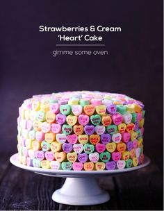10 Crazy-Cute Ideas Inspired by Candy Hearts | Personal Creations Blog