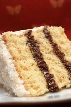 Sugar & Spice by Celeste: Mounds Bar Cake - Heaven on a Plate!!!