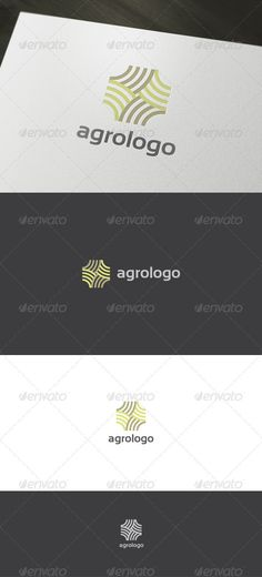 Buy Abstract Agro Logo by domibit on GraphicRiver. Agro Logo is a logo that can be used in companies providing agricultural services, web sites containing agricultural. Vector Logo Design, Logo Design Template, Graphic Design Branding, Logo Templates, Abstract Logo, Geometric Logo, Agriculture Logo, Portfolio Logo, Circle Logos