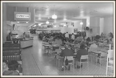 Coles Cafeteria in m Melbourne Victoria (year unknown). Perth Western Australia, Melbourne Australia, Australia Travel, Melbourne Victoria, Victoria Australia, Terra Australis, Melbourne Suburbs, Local History, Historical Photos