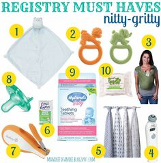 baby registry must haves [nitty-gritty]