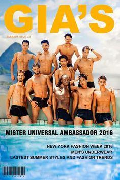 Photography by: Huy Tran #MisterUniversalAmbassador2016 #Hunk #Men #Swimwear #Beauty #Pageants