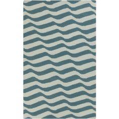Surya Sheffield Market Grey & Teal Rug design by Angelo Surmelis