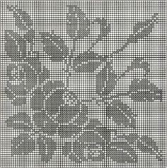 Kira scheme crochet: Scheme crochet no. 1815