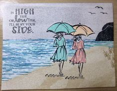 Beautiful and High Tide Stampin' Up!