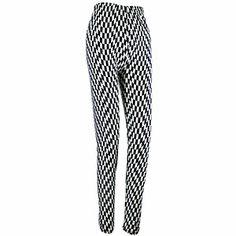 Finish Line Fabulous Checker Print Leggings Black and White $9.99 Print Leggings, Black Leggings, Checker Print, Finish Line, Black And White, Spring, Fashion, Printed Leggings, Moda