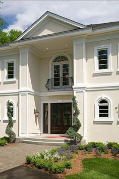 Elegant Front Door Decorating Ideas. Inspiring Front Door Decorating Ideas.  #HomeDecor ~opulence,