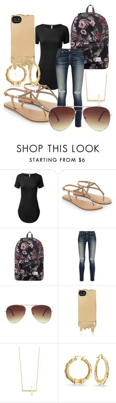 """Untitled #33"" by twisted-membrane on Polyvore featuring Accessorize, Herschel Supply Co., rag & bone, Forever 21, Marc by Marc Jacobs, Jennifer Zeuner, Bling Jewelry, women's clothing, women's fashion and women"