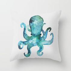 octopus, sea, life, octo...