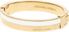 Michael Kors Logo Hinge Bangle Bracelet