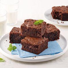 Brownie dans un seul bol - Je Cuisine Cupcake Frosting, Cupcakes, Brownies Au Nutella, Biscuits Brownies, Gateaux Cake, Bakery, Yummy Food, Recipes, Sauce Caramel