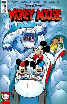 Cover for Mickey Mouse (IDW, 2015 series) #10 / 319 [Regular Cover]