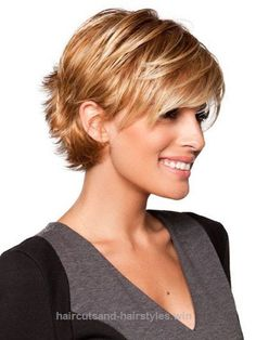 Adorable Layered Pixie  The post  Layered Pixie…  appeared first on  Haircuts and Hairstyles .