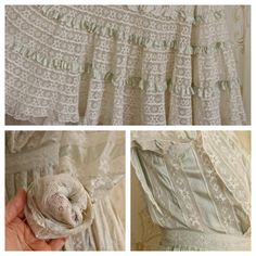 Breathtaking Antique Dress /Wedding Dress / by WhynaughtShop