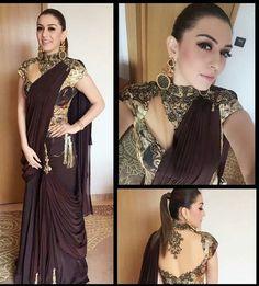 Kollywood Beauties Series : Hansika Motwani has the most unique glorious saree blouses ever...