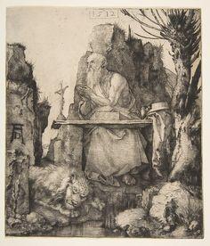 Saint Jerome by a Pollard Willow