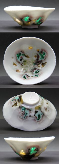 Glass embedded porcelain - WOW!