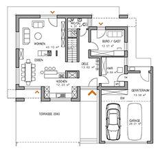RKR Musterhaus | BAUHAUS ART 2 189 | Erdgeschoss