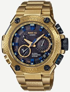 532586adca25 Casio G-Shock Gold Hammer Tone MRGG1000HG-9A Watch – by David Bredan –