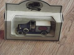 Vintage Days Gone By Car, Vintage Lledo Car, Vintage 'Walkers Crisps' Days Gone By Toy Car - Boxed (1990), Lledo - RARE by BeautifulVintageBits on Etsy