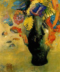 「花」(1903)オディロン・ルドン