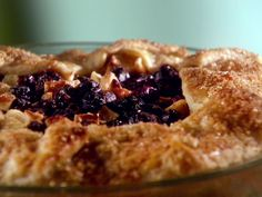 Simple Blueberry Apple Pie from FoodNetwork.com