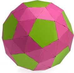 12 pentagons and 80 triangles =  Snub Dodecahedron.