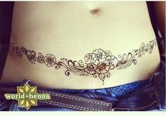 Tummy tuck / scar cover up / DIEP flap scar / tattoo