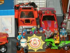 This is actually from my personal collection. Took this to show off my UnderScoopFire Brigade decal. Toy Shelves, Nerf, Childhood Memories, Decal, Collections, Toys, Activity Toys, Clearance Toys, Gaming