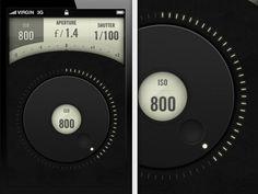 User interface design.
