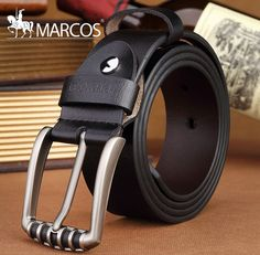 1dd365aa936 Aliexpress.com   Buy 2016 Designer Belts Men High Quality Luxury 100% Real COW  Leather Homme Cowboy H G belt from Reliable belt buckle seat belt suppliers  ...